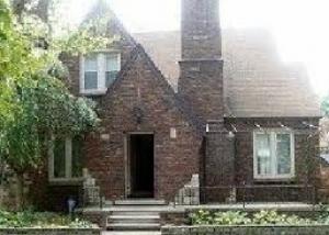 Brick Bungalow Foreclosure